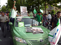 Elections in Iran- Green Movement (~~Ali~~) Tags: iran iranian elections isfahan mirhusseinmousavi presidetialelections