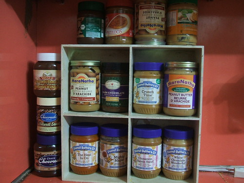 my peanut butter shelf