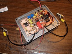 20 Watt Broadband Linear Amp - Inside