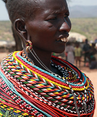 Samburu (Ferdinand Reus) Tags: africa travel portrait woman kenya traditional tribal safari tribe ethnic samburu afrique