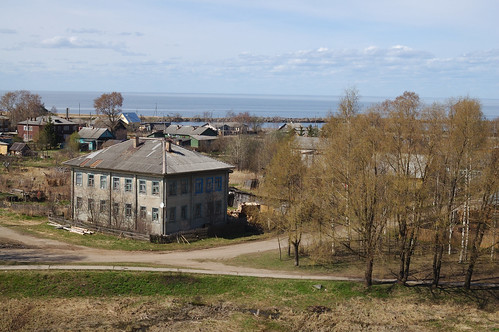 the view to Belozersk