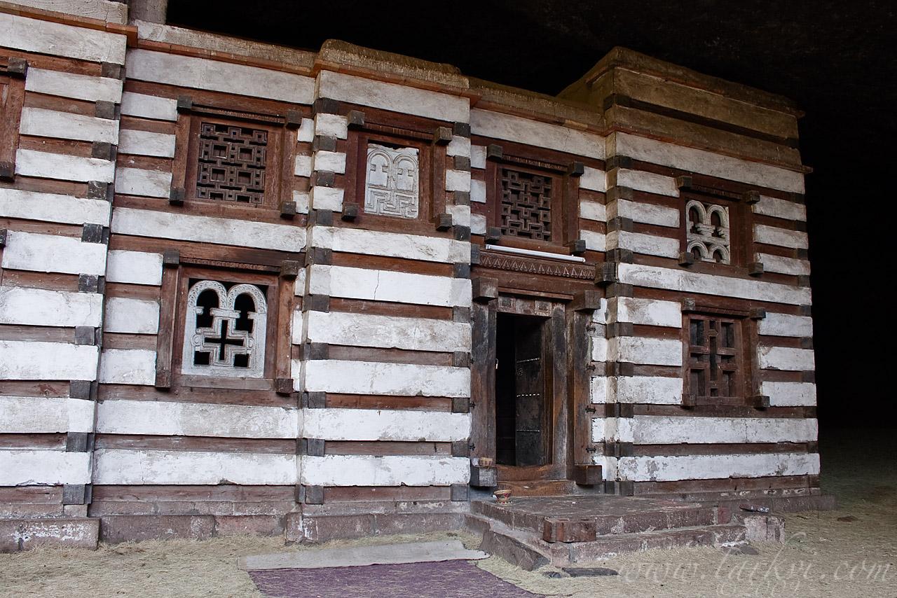 Exterior #1, Yemrehana Kristos Church, Lasta, Ethiopia, June 2009
