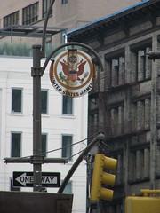 Avenue of the Americas - United States (Dan_DC) Tags: nyc newyorkcity symbol manhattan unitedstatesofamerica stock rusty license medallion streetfurniture lowermanhattan 6thavenue symbolic rf imagebank avenueoftheamericas royaltyfree symbolize flatfee streetllamp