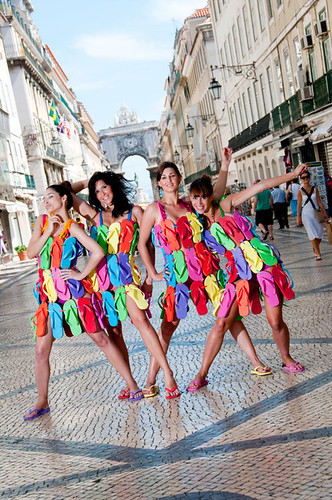 Lisbon Downtown por Havaianas Seasons.