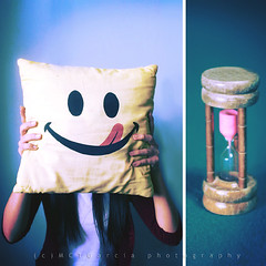 The perfect time to smile (ilovestrawberries (Carmi)) Tags: smile diptych time smiley dip timer thursday ilovestrawberries mctgarcia