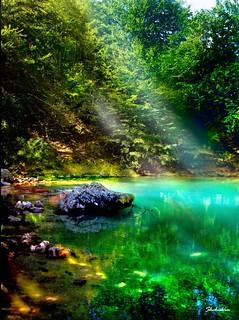 Oko. River's origin
