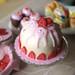 Vanilla Strawberry Dôme