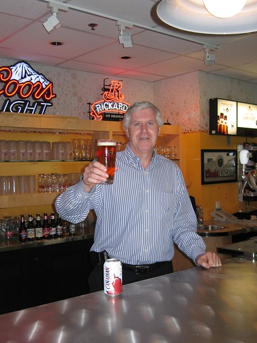 Cheers from Molson's new CEO and President, Dave Perkins
