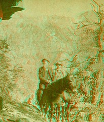 Stereo Photographer and Publisher B.W. Kilburn at Ouray Colorado anaglyph3D (depthandtime) Tags: old vintage found stereoscopic stereophotography 3d colorado mine photographer view antique anaglyph stereo card views mines stereoview stereograph foundphoto 1890 kilburn stereoscope ouray anaglyphic stereographic redcyan stereoscopeview bwkilburn stereophotographer stereoviewpublisher stereoviewmaker