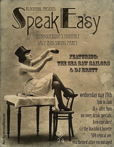 speakeasy may 19th