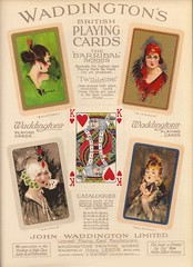 Waddington of Leeds, Barribal playing card series, 1923 (mikeyashworth) Tags: yorkshire leeds windsor 1922 mayfair balmoral playingcards belgravia waddingtons johnwaddingtonltd barribal williambarribal playingcarddesigns playingcardbacks waddingtonsprintingworks wakefieldrd mikeashworthcollection
