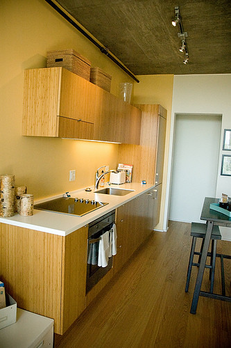 Complete Kitchens in Every Unit: Luxury Apartments in Downtown Portland-Cyan/PDX