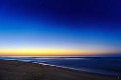 [フリー画像] 自然・風景, 海, ビーチ・砂浜, 朝日・朝焼け・日の出, アメリカ合衆国, 201005251700