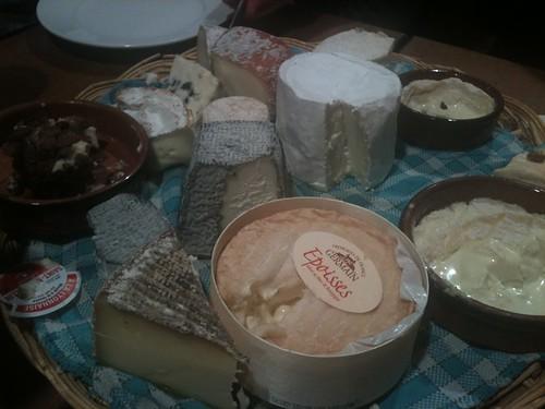 Chez Casimi: Plateau de fromages