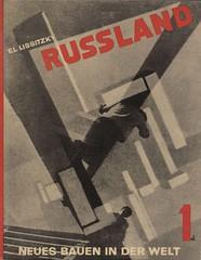 Russland. Die Rekonstruktion der Architektur in der Sowjetunion,vol. 1 (andreyefits) Tags: 1920s magazine cover soviet avantgarde constructivism ellissitzky