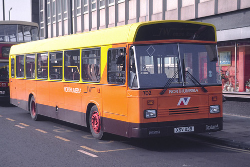 Northumbria Motor Services Leyland National 2 / East Lancs Greenway 702 (XSV238)