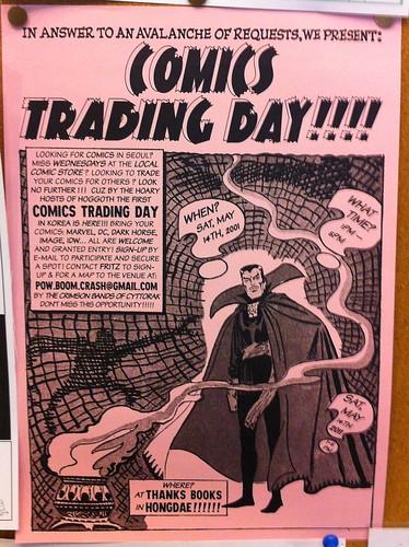 Comics Trading Day