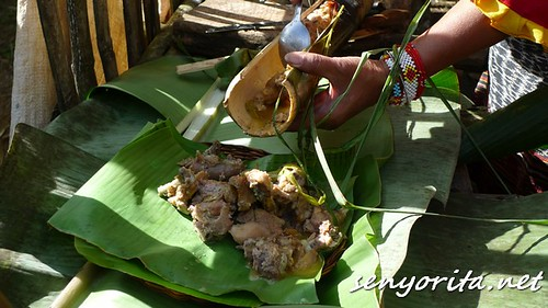 How the Bagobos prepare a chicken in coconut milk meal
