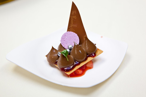 Chef Jean-Francois Suteau, The Beverly Hills Hotel, Beverly Hills, CA: Caramelia-Strawberry-Cassis