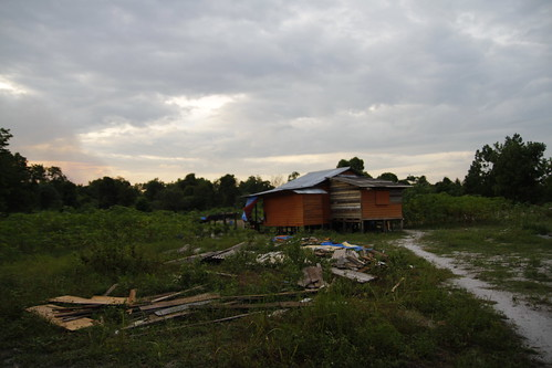 A hut