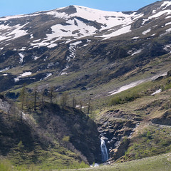 Melting water of the Hohe Tauern flows into the Kruml valley (Bn) Tags: park blue light shadow sky sun snow mountains alps fall ice nature water walking heidi austria golden waterfall spring woods rocks ray wasserfall eagle hiking wildlife falls adventure evergreen alpine national valley goldenvalley melt spar spruce larvae finest seekers steep birdofprey marmots hohe rauris lariks unspoilt tauern krumltal wasserfallalm rauristal bartgeier beardedvulture lammergier kruml dastaldergeier taldergeier valleyofvultures schaflegerkopf 2788m thekingsoftheair dalvandegieren