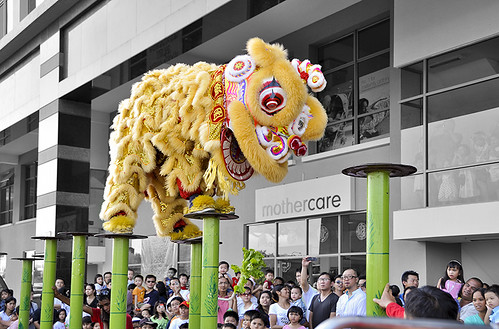 lion dance800 sharp