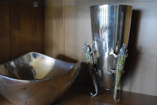 Nambé Silver Vase