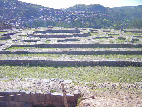 The remains of a tower at the Temple at Sacsayhuaman