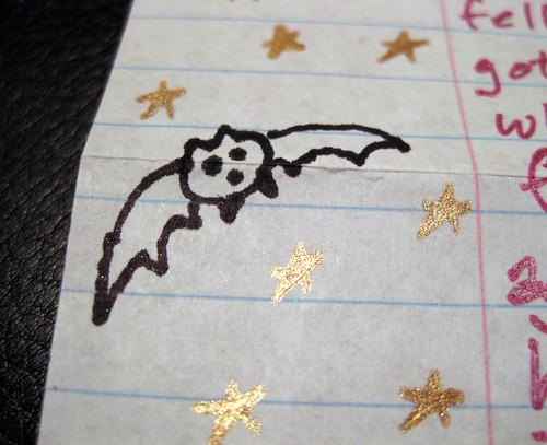 YAY bat doodle!!