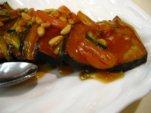 "Sweet & Sour ""Fish"" @ Gaia Vegetarian Restaurant"