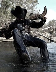 001 WS boot wash new Wrang jeans & shirt (wranglerswimmer) Tags: wet cowboy jeans rivers cowboyhat cowboyboots wrangler cowboyup swimminginclothes swimmingfullyclothed wetjeans wranglerjeans wetguys wetmen creekswimming cowboygear wranglershirt bootwater wetcowboys wetcowboyboots wetwranglerjeans