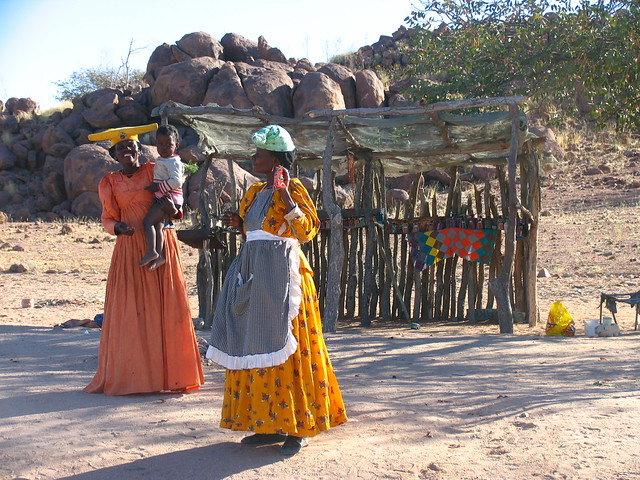 Herero Woman Traditional Dress - History of Women Clothing in Namibia - Atlas Obscura