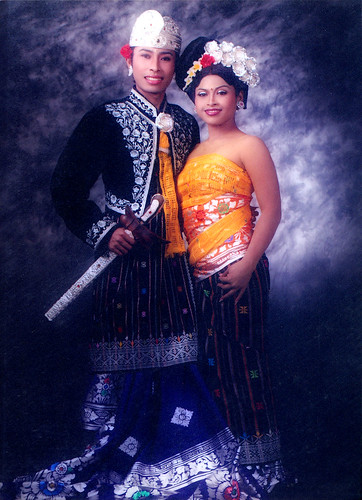 Balinese Wedding Dress