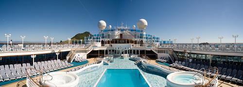 Dolphin Pool Panorama