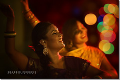 Bokeh Merriment (Shabbir Ferdous) Tags: wedding portrait photographer bokeh celebration dhaka bangladesh bangladeshi canoneos5d ef70200mmf28lisusm shabbirferdous wwwshabbirferdouscom shabbirferdouscom