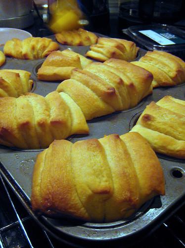 Fresh Baked Buttermilk Fantails