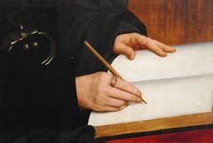 Erasmus' hands