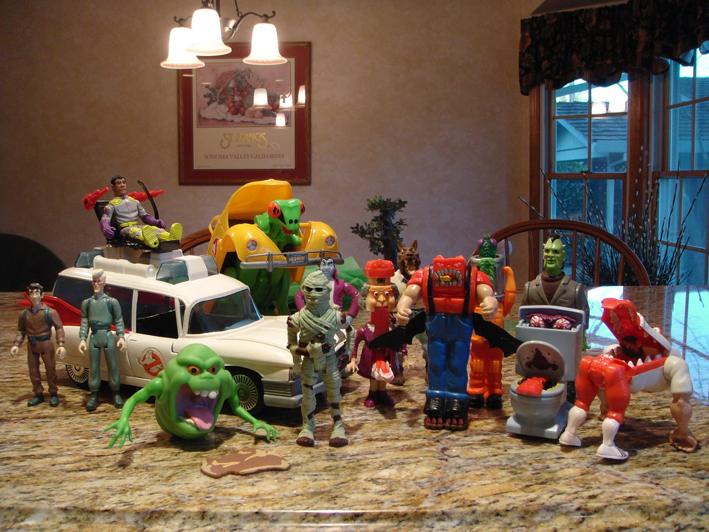 Ghost Busters Toys 51