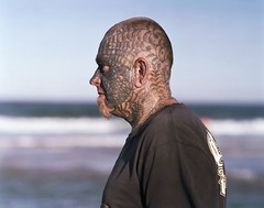 Matt #3 (lynn smith) Tags: portraits spiderman tattoos headshots baldmen headandshouldersportraits tattoedman