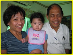 Janna with Tita Landang and Tito Pio