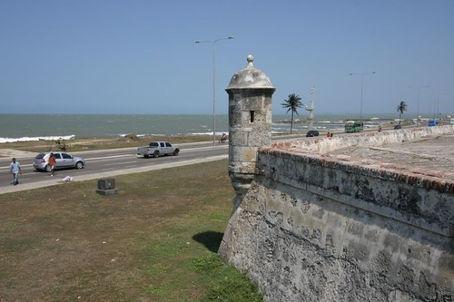 Cartagena's City Wall...