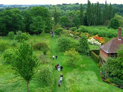 Sissinghurst Castle Garden in Kent, England (UGArdener) Tags: england tower english garden sissinghurst kent spring azaleas unitedkingdom britain may orchard nationaltrust springtime englishgardens drizzlyafternoon englishtravel