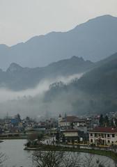 View of Sapa (baobee) Tags: mountain nature hotel village vietnam sapa victoriasapahotel