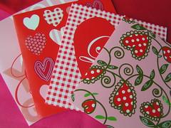 valentijn kaarten van de Hema
