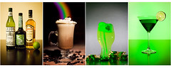 St. Patrick's Day Drinks (JayceG) Tags: irish food holiday reflection green cup glass coffee st drunk umbrella canon magazine recipe eos 50mm gold is photo beans rainbow nikon kiss day drink coins irishcoffee flash stock beverage cream martini whiskey sugar cocktail ii drinks alcohol ingredients mug 5d setup punch patricks lime f18 baileys vivitar emerald shamrock gel ef whipped leprechaun liquour 70200mm liquer strobes snoot offcamera f28l sb24 sb25 285hv strobistcom strobist jaycegcom