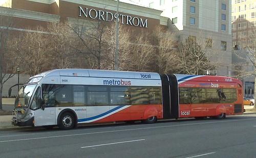 Crazy new streetcar-style Metrobuses