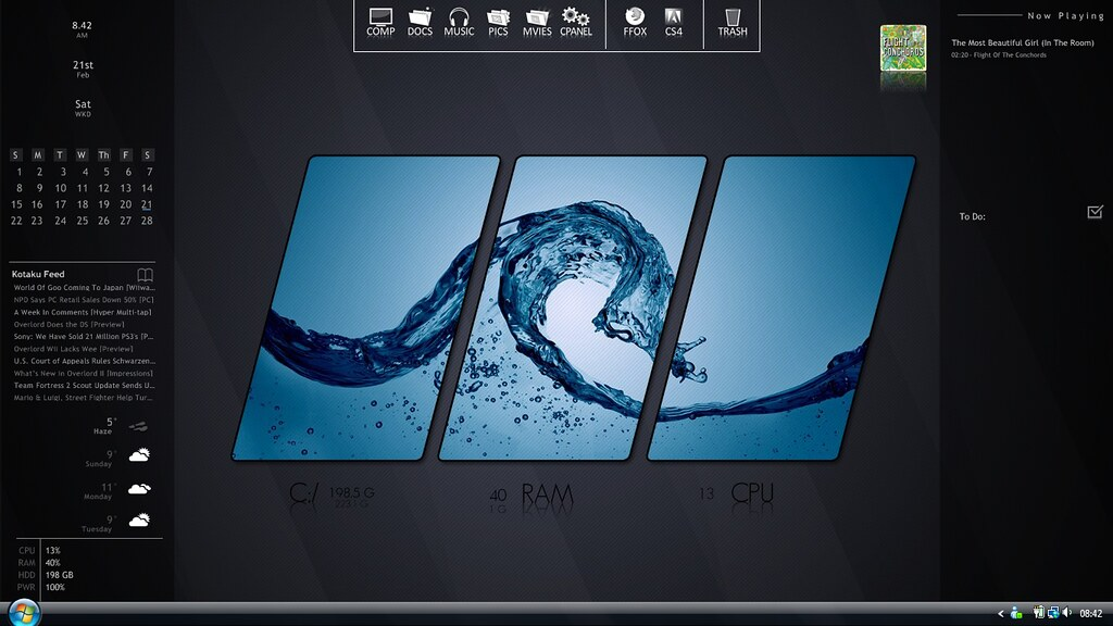 The World's Best Photos of dock and rainmeter - Flickr Hive Mind