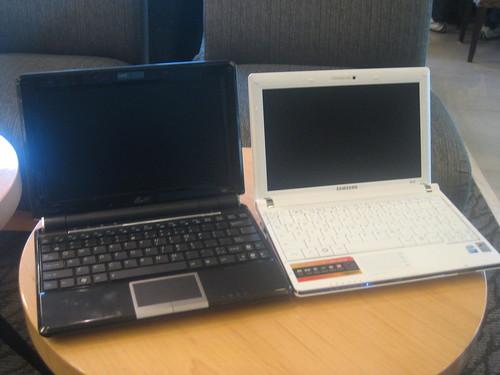 Eee PC 1000HE vs Samsung NC10