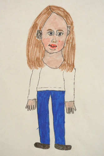 Self-Portrait - 7YO Girl