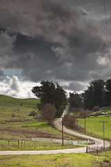 Highway 1 Snakes Through Marin. (Tom Moyer Photography) Tags: california sky clouds highway1 marincounty canon5d lightroom